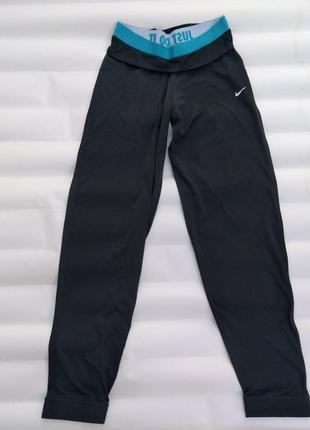 Спортивные брюки штаны, лосины nike dry-fit оригинал р. xl m і l