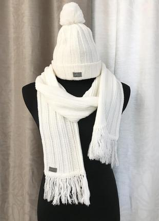 Набор шапка и шарф adidas