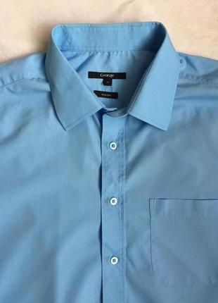 Рубашка муж длинный рукав george раз xl(52)