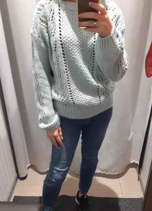 Теплый свитер c&a