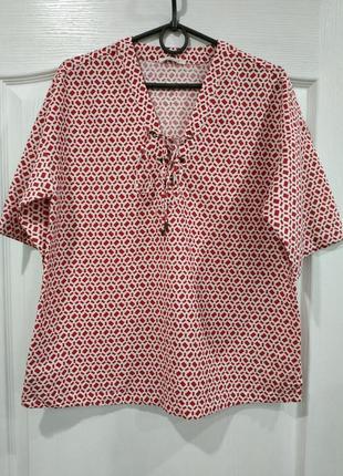 Красивая свободная блузочка