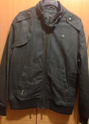 Куртка джинсовая g star raw  р.l