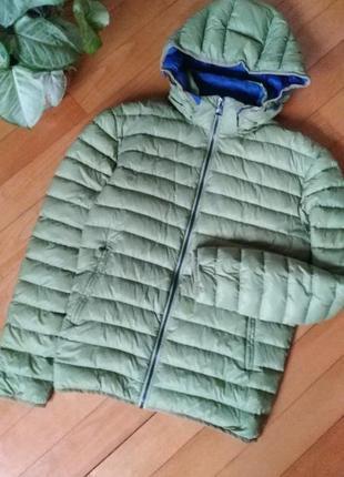 Отличный ультра лёгкий пуховик куртка roy robson