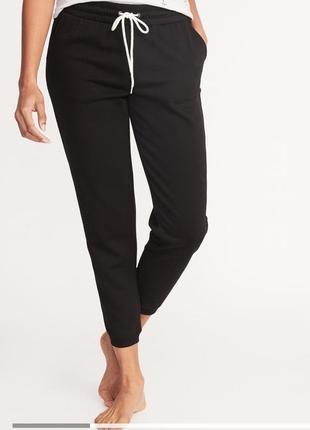 Теплые штаны с начесом old navy l