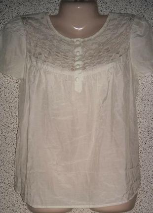 Шелковая стильная блузка от бренда marc jacobs.оригинал