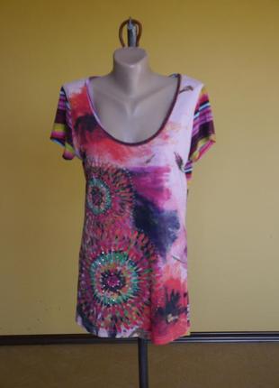 Блуза  брендова на  розмір l  desigual
