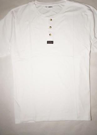 Стильная футболка поло в рубчик