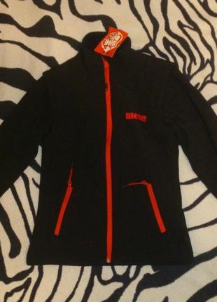 Термо куртка жилетка 2в1 софтшел на флисе