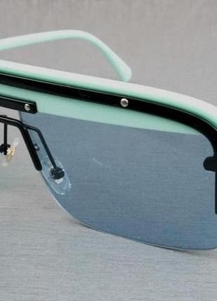Prada очки маска женские солнцезащитные мятно голубые