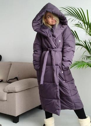 Супер тёплый объемный пуховик одеяло оверсайз на морозы -35 градусов ❄️ хит продаж!