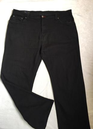 Супер джинсы муж чёрные плотные  2xl (54)