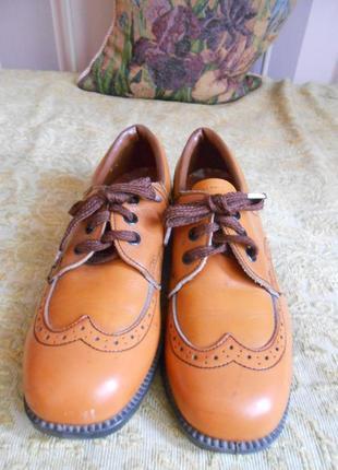 Классические кожаные туфли / оксфорды / топсайдеры / броги