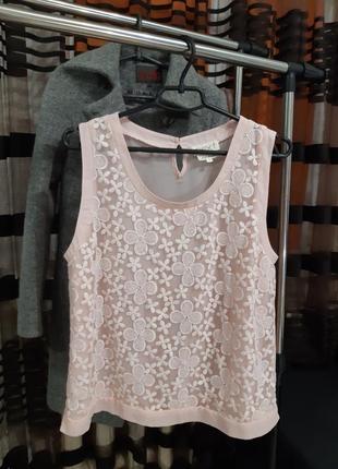 Нежная блуза, размер xxl