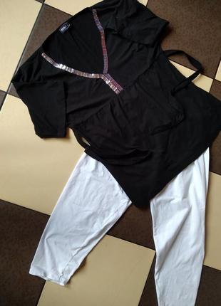 Трикотаж(туника+штаны) смотрится очень круто!в отличном  качестве