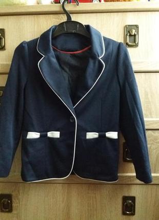 Пиджак жакет  для девочки