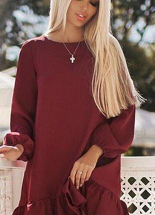 Красивое и модное платье свободного кроя, бренд b&h