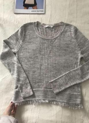 Кофта рубчик свитер реглан джемпер