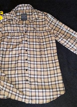 Рубашка в клетку, abercrombie&fitch