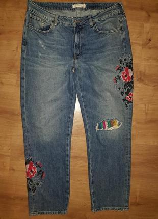 Очень крутые плотные джинсы h&m -  на 14 р-р, может и 12-14