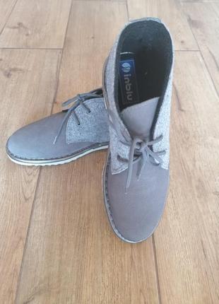 Нарялные ботинки дезерты inblu