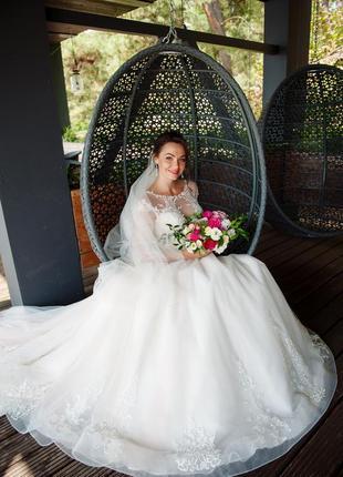 Роскошное свадебное платье коллекция 2020