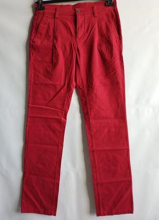 Мужские штаны брюки французского бренда promod , s-xxl, сток европа