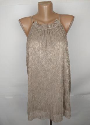Блуза новая шикарная блестящая большого размера marks&spencer uk 20/48/3xl