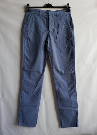 Мужские штаны брюки французского бренда promod , s  сток европа