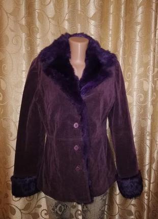 💕💕💕женская демисезонная куртка, пальто, шубка с натуральным мехом кролика bess🔥🔥🔥