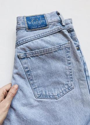 Wrangler, винтажные джинсы мом на высокой талии