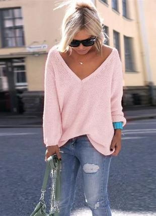 Зефирный свитер