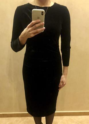 Платье под бархат inwear