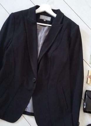 Лаконичный пиджак на одну пуговицу для делового гардероба..# 69
