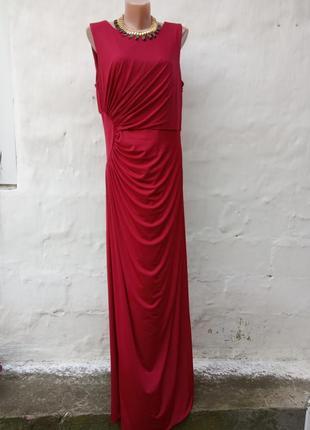 Красивое шикарное элегантное нарядное вечернее платье макси 💃🏻👑💐 в пол john lewis.