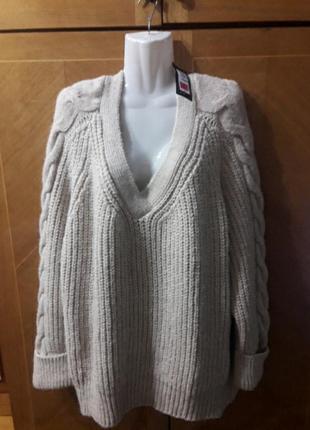M&s свитер обьемный толстый большой