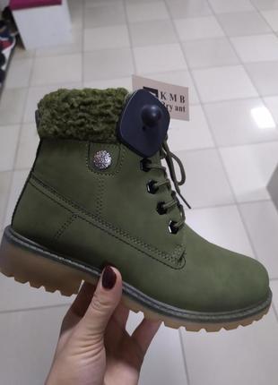 Ботинки женские зимние стильные