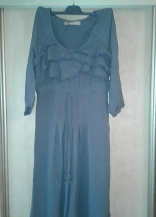 Новое вискозное платье с рукавом 3/4  бренда culture  m  разм.