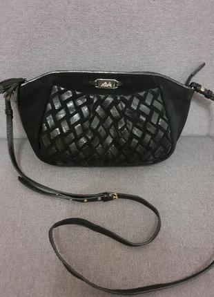Красивая сумочка из замша и натуральной кожи riok , индия