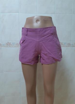 Короткие хлопковые шорты