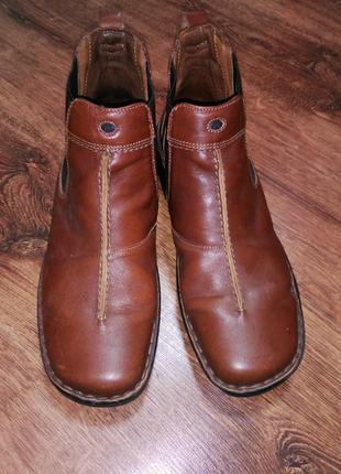 Кожаные ботинки josef seibel