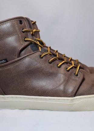 Ботинки vans otw alomar мужские кожаные высокие кеды. оригинал. 47 р./32.5 см.