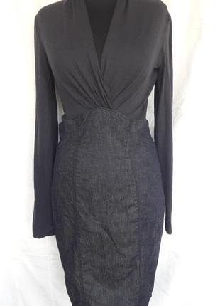 Оригинальное платье armani jeans