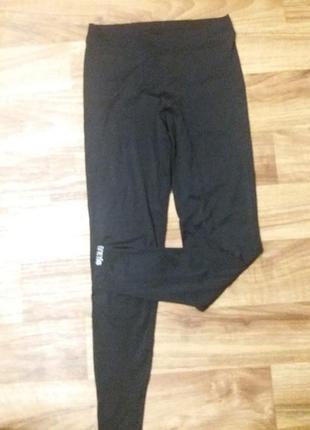 Качественные спортивные лосины штаны с высокой посадкой frenetic оригинал