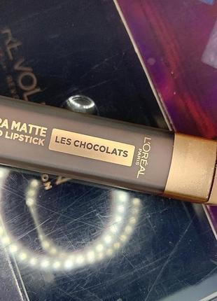 Помада l'oreal paris les chocolats 852
