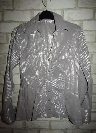 Стильная рубашка р-р 12-40 бренд orsay