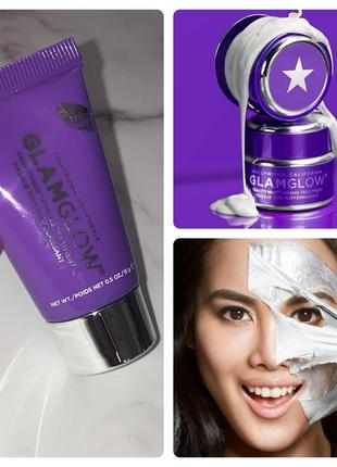 Glamglow gravitymud лифтинг маска для лица