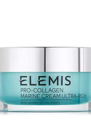 Крем elemis pro-collagen marine cream ultra-rich 15 мл