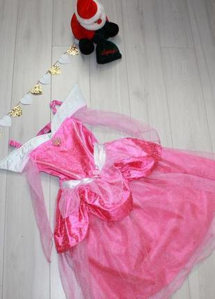 Платье принцессы авроры на 3-4 года