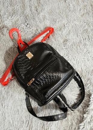 Mini рюкзак иск.кожа-под крокодила