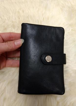Мужской кожаный кошелек hansson